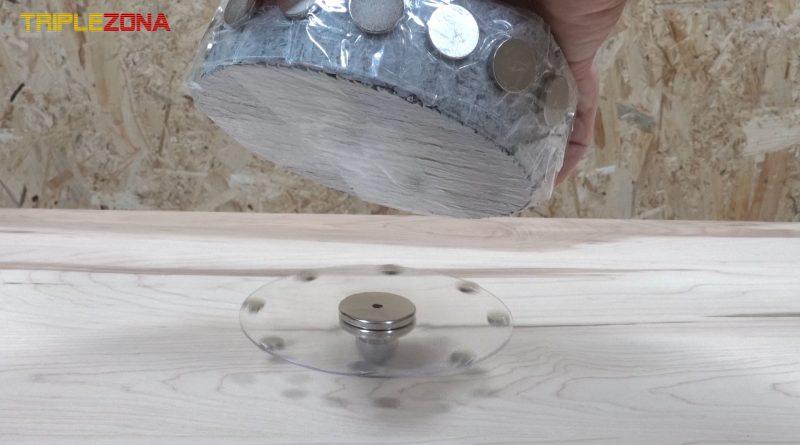 Generando energía libre con anillo magnetico