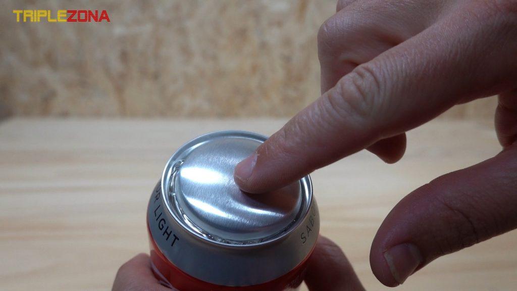 embellecedor parte superior cohete de Coca Cola