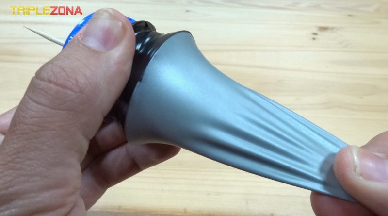 Lanzador de palillos y bolas de airsoft