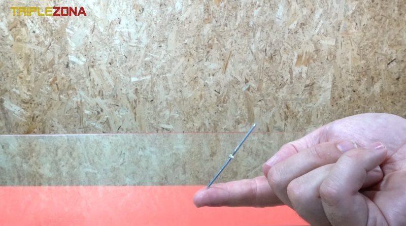 clavos magnetizados a distancia sobre el dedo