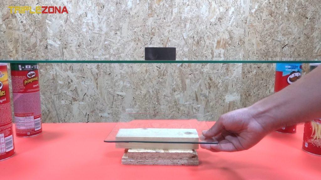 Colocando elevación para ajustar la levitacion de monedas