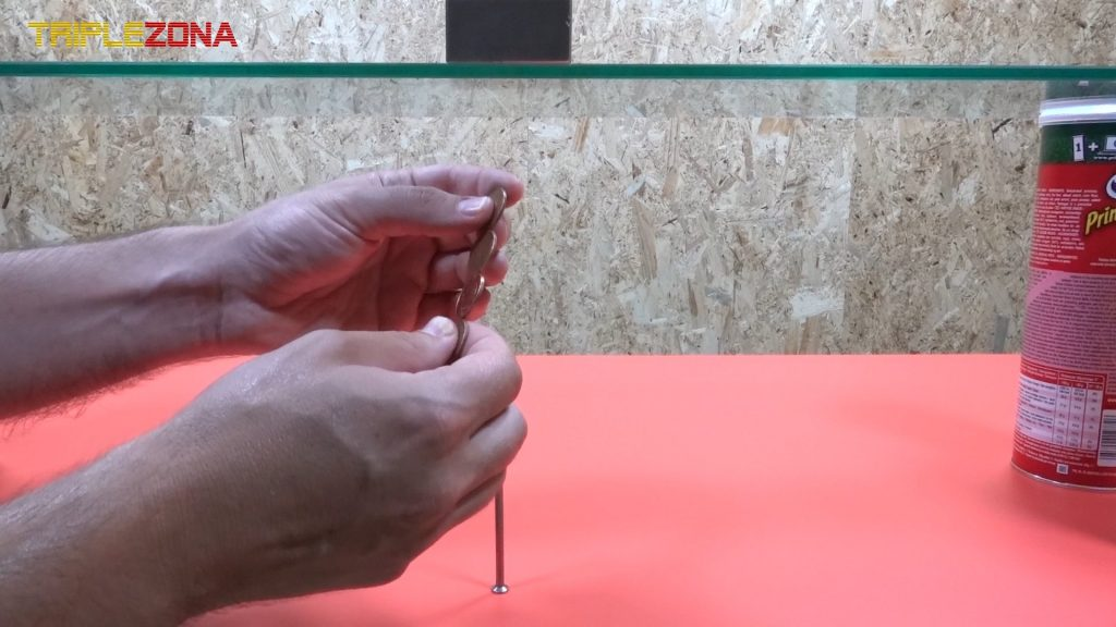 Creando tira de monedas imantadas