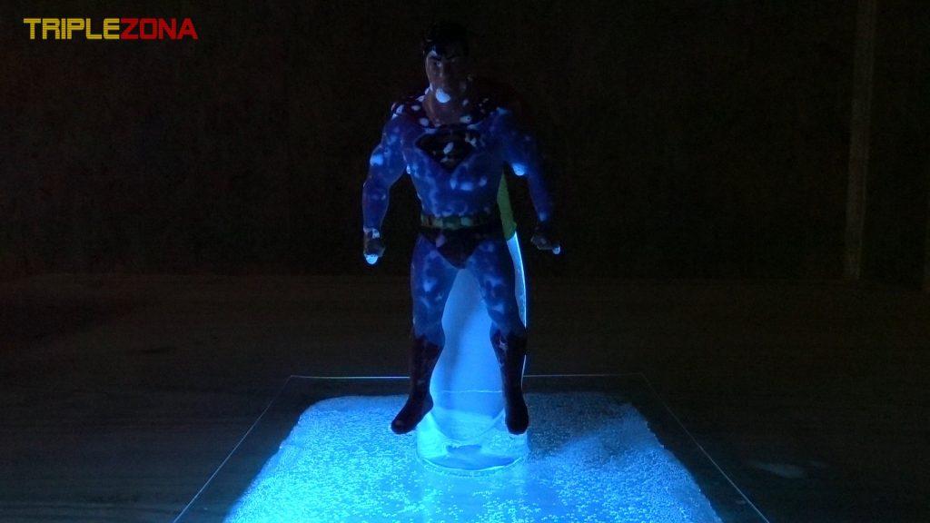 Stretch Superman despues de baño con tonica