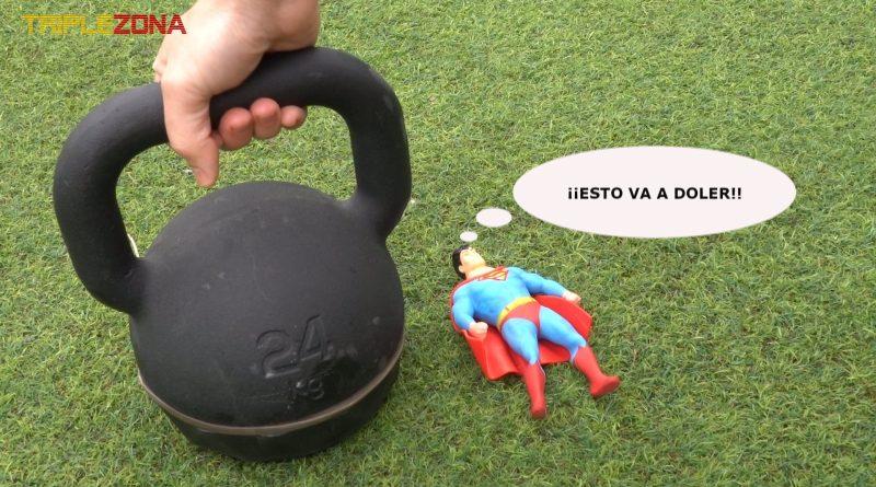 Stretxh Superman sufriendo