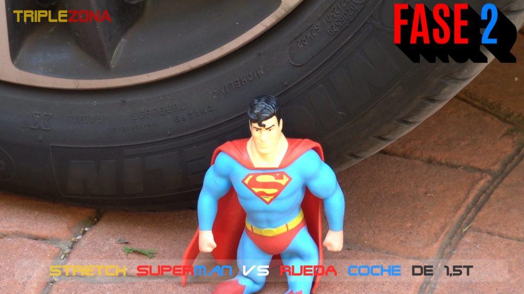 Stretch Superman VS rueda de coche
