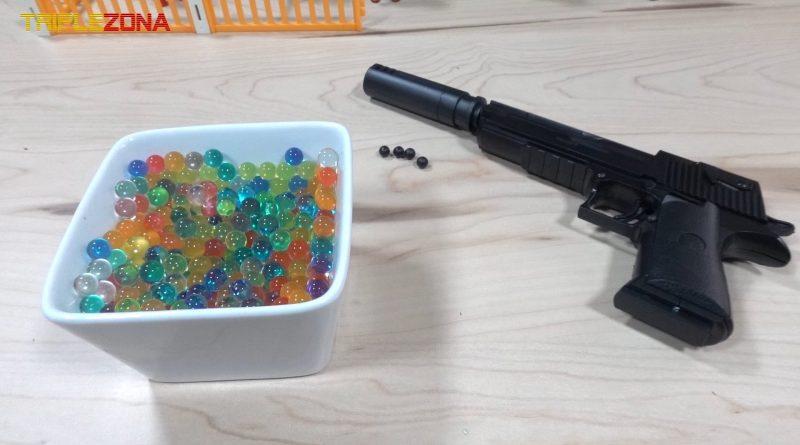 Pistola a piezas Orbeez