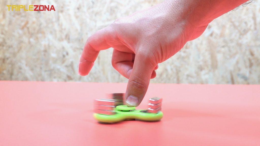 Probando Spinner magnético