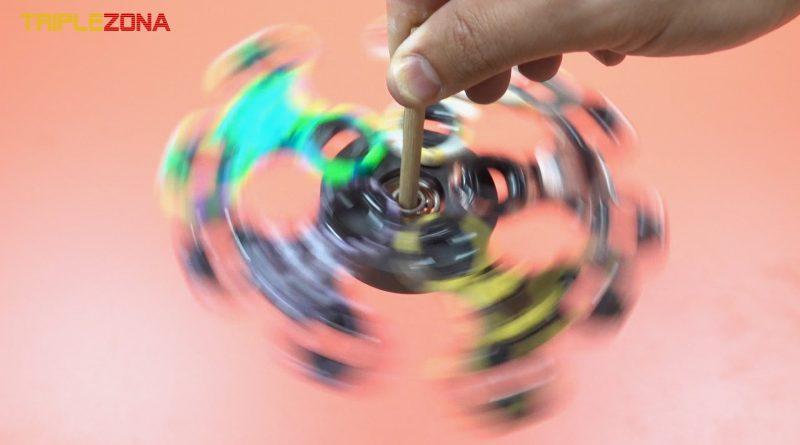 Spinner magnético de spinners girando 2