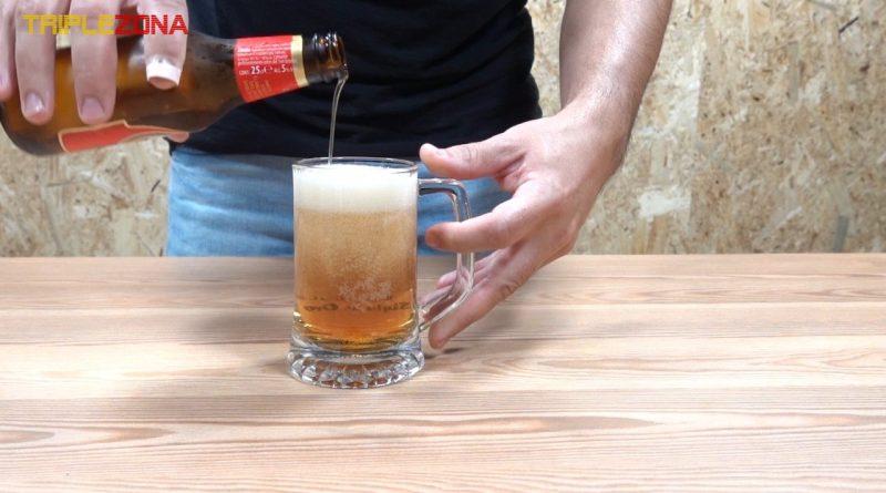 Como servir una cerveza perfecta