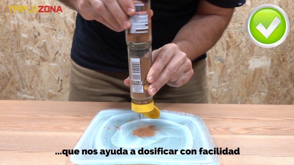 Como dosificar especias