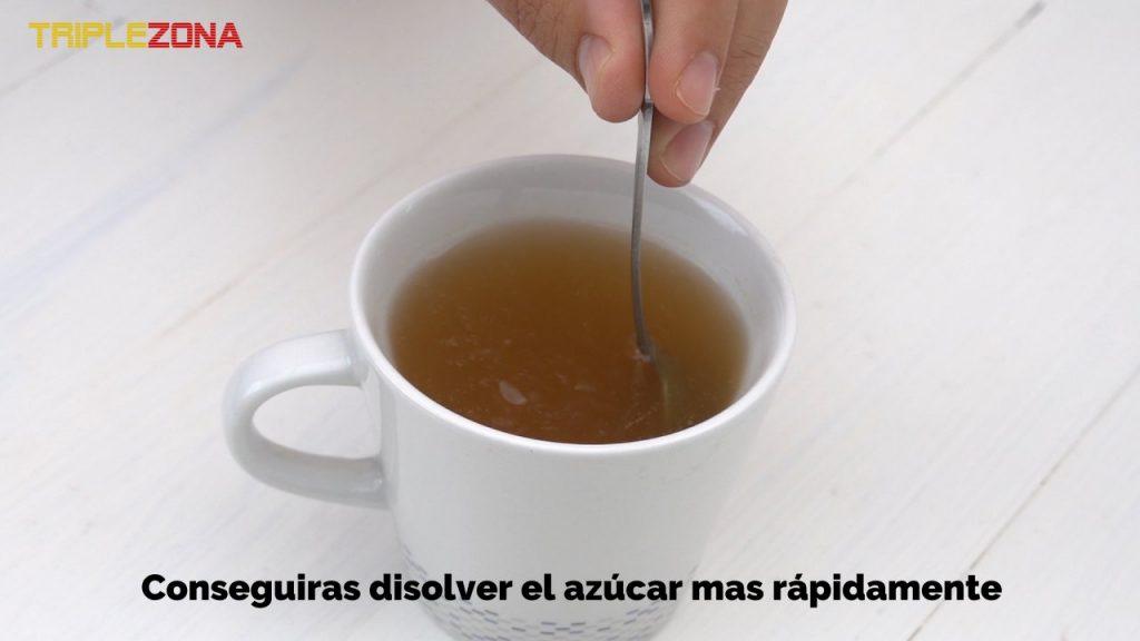 Como remover azúcar en café o te