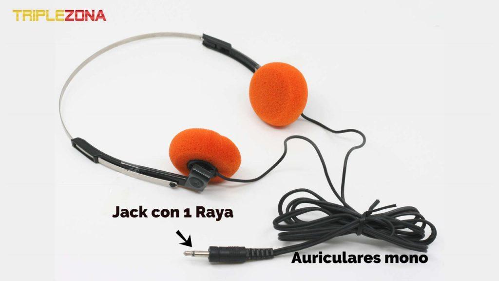 Auriculares mono