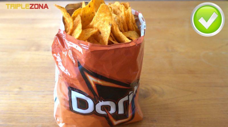 Utiliza la bolsa de snacks para servirlos